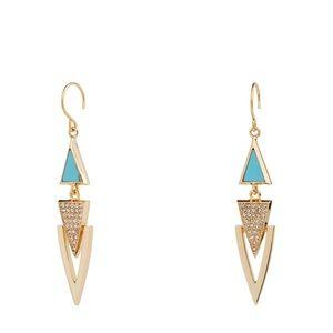 Vera Bradley | Triangle Triple Drop earrings